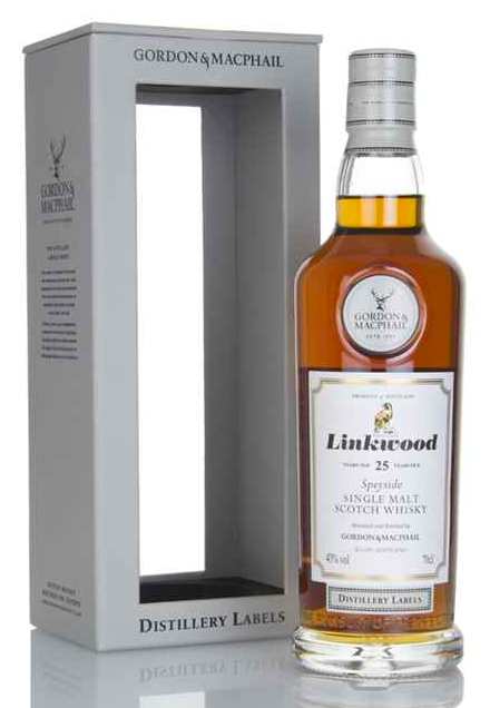 Linkwood 25 Year Old - Distillery Labels (Gordon & MacPhail)