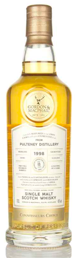 Pulteney 19 Year Old 1998 - Connoisseurs Choice (Gordon & MacPhail) (46%)