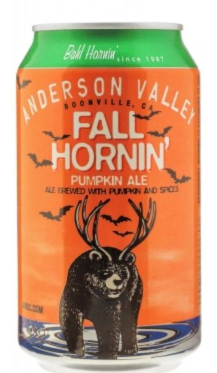 "Anderson Valley Brewing ""Fall Hornin'"" Pumpkin Ale"