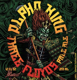 "3 Floyds Brewing ""Alpha King"""
