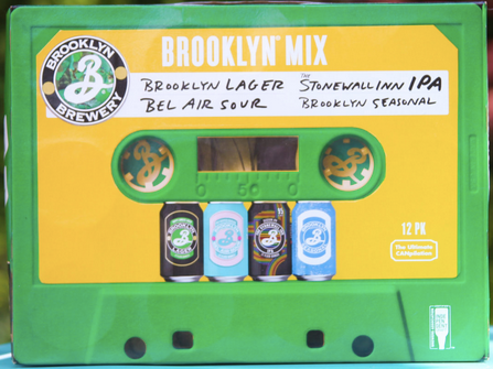 "Brooklyn Brewing ""Mix Tape"" Variety Pack"