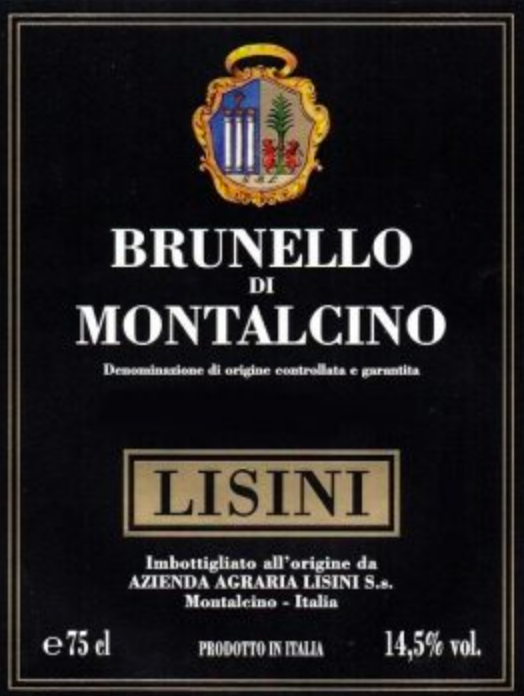 Lisini Cellar Offer, The Four Pack
