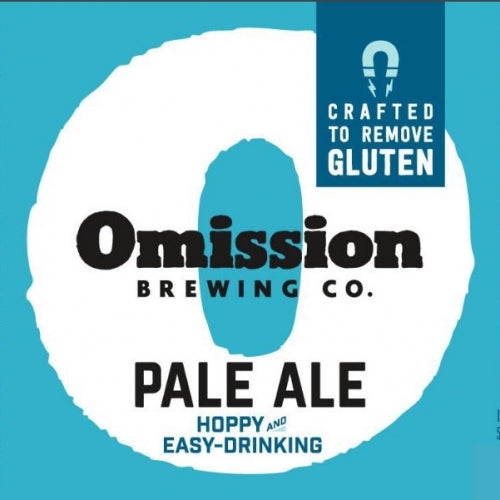 "Omission Brewing ""Pale Ale"" Gluten Free"