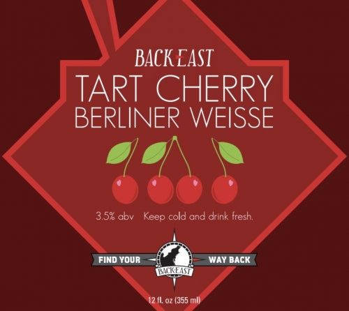 "Back East Brewing ""Cherry Berliner Weisse"""