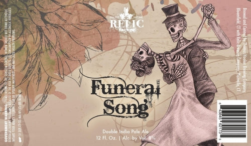 "Relic Brewing ""Funeral Song"" DIPA"