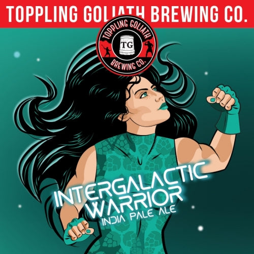 "Toppling Goliath Brewing ""Intergalatic Warrior"" AIPA"