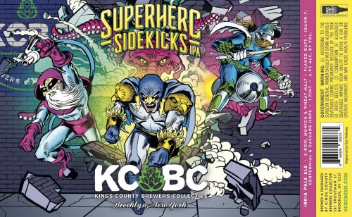 "Kings County Brewing ""Superhero Sidekicks"" IPA"