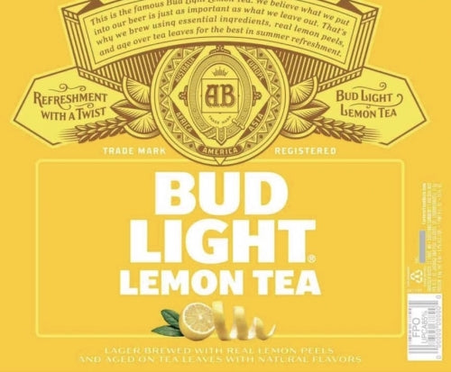 Bud Light Lemon Tea Bottles