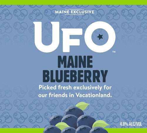 "Harpoon Brewing UFO ""Maine Blueberry"""