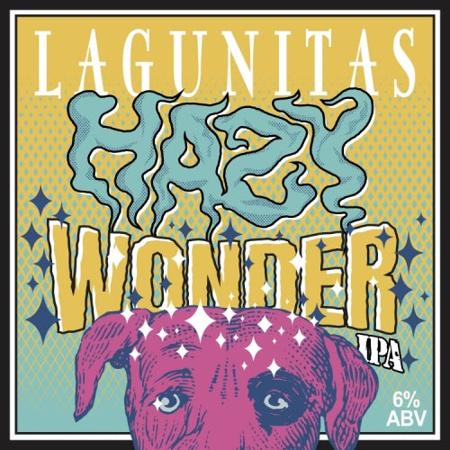"Lagunitas Brewing ""Hazy Wonder"" NEIPA 6pk"
