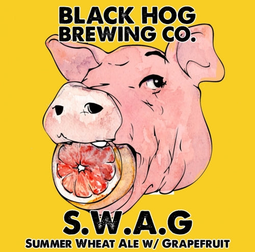 "Black Hog Brewing ""SWAG"" Summer Wheat Ale"