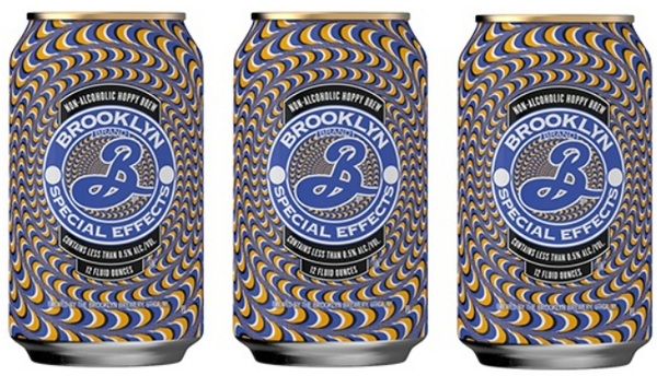 "Brooklyn Brewing ""Special Effects"" Hoppy Amber Non-Alcoholic Ale"