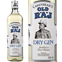 Cadenhead's Old Raj Gin (100 Proof Blue Label)