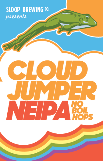 "Sloop Brewing ""Cloud Jumper"" NEIPA"