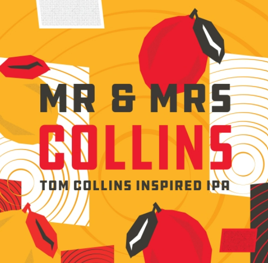 "Springdale Beer Co. ""Mr. & Mrs. Collins"" American IPA"