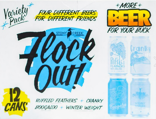 "Stony Creek Brewing ""Flock Out"" Variety Pack"