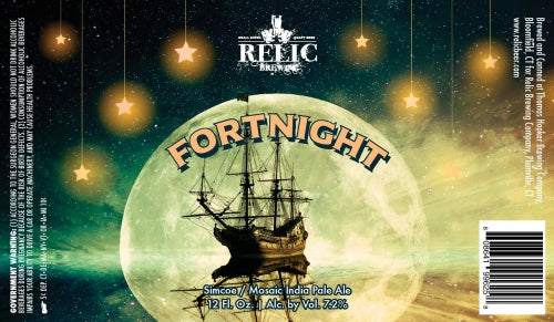 "Relic Brewing ""Fortnight"" IPA"