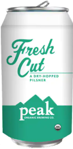 "Peak Organic Brewing ""Fresh Cut"" DH Pilsner"