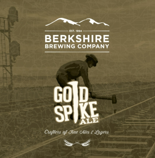 "Berkshire Brewing ""Gold Spike"" Ale"