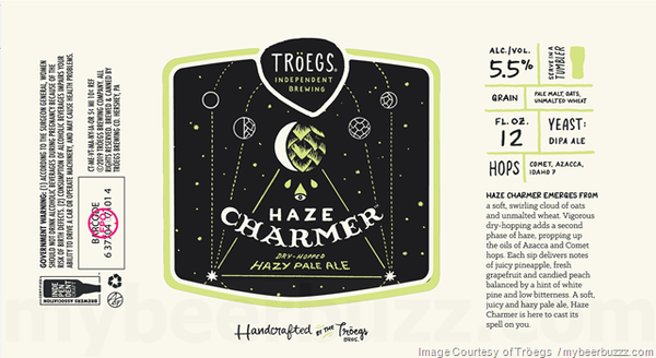 "Troeg's Independent Brewing ""Haze Charmer"" Pale Ale"