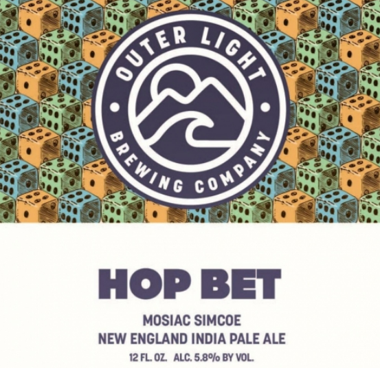 "Outer Light Brewing ""Hop Bet"" NEIPA"