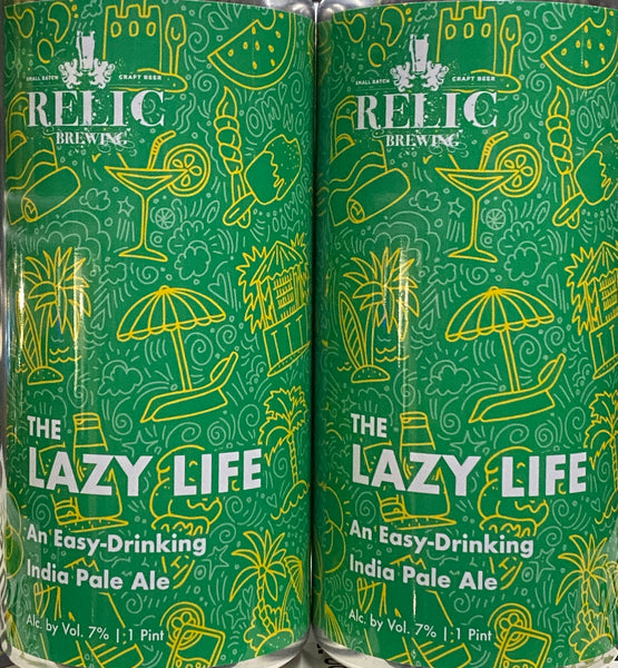 "Relic Brewing ""The Lazy Life"" IPA"