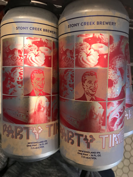 "Stony Creek Brewing ""Party Time"" NEIPA"
