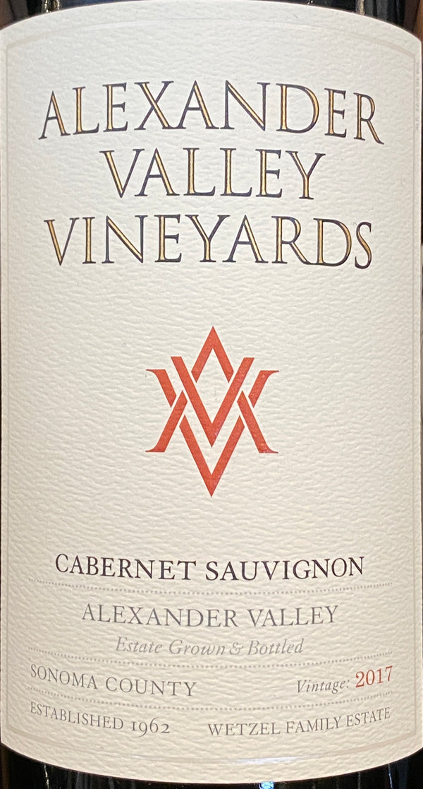 Alexander Valley Vineyards Cabernet Sauvignon Alexander Valley, 2018