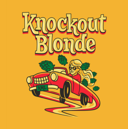 "Lawson's Finest Liquids ""Knockout Blonde"" Ale"