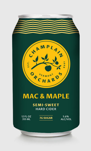 Champlain Orchard Mac & Maple Cider 4PK