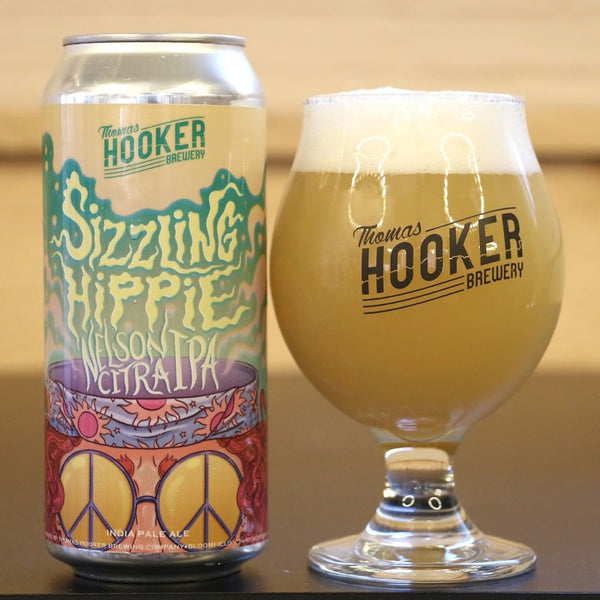 "Thomas Hooker Brewing ""Sizzling Hippie"" IPA"
