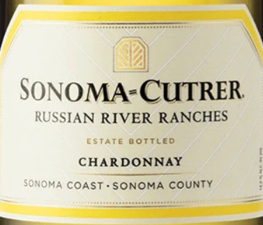 Sonoma-Cutrer Vineyards Chardonnay Russian River Ranches Sonoma Coast, 2017