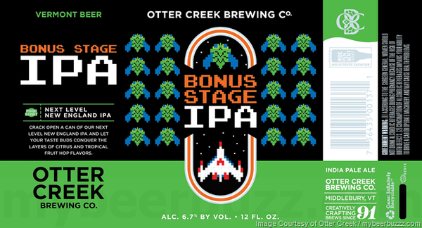 "Otter Creek Brewing ""Bonus Stage"" NEIPA"