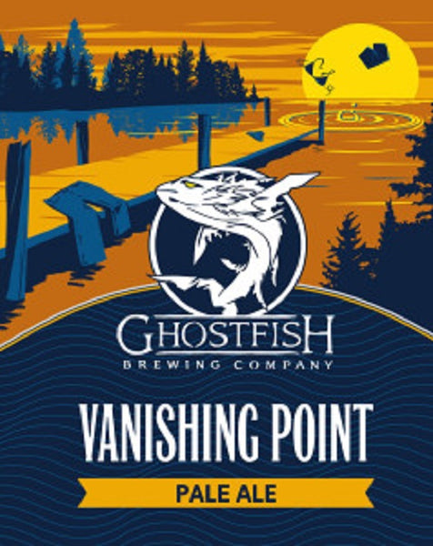 "Ghost Fish Brewing Company ""Vanishing Point"" Gluten Free Pale Ale"