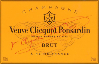 "Champagne Veuve Clicquot ""Yellow Label"" Brut, N/V"