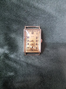c1940 Tudor 9ct Gold watch (serviced) #103