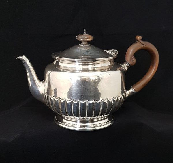 London 1901 Stg Silver Edward Barnavo & Sons Ltd WJBMS Teapot
