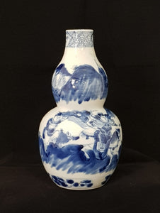 Double Gourd Vase C19th Daoquang China Porcelain [BD0011]