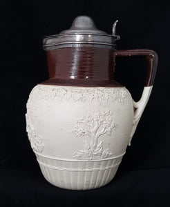 Harvest Jug Impressed Mark C John Turner Pottery, London 1805