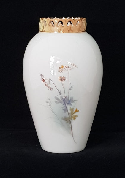 Royal Worcester Porcelain Vase