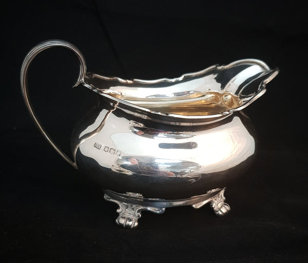 Sheffield Sterling Silver 3 piece Tea Set c1894 [BD058]
