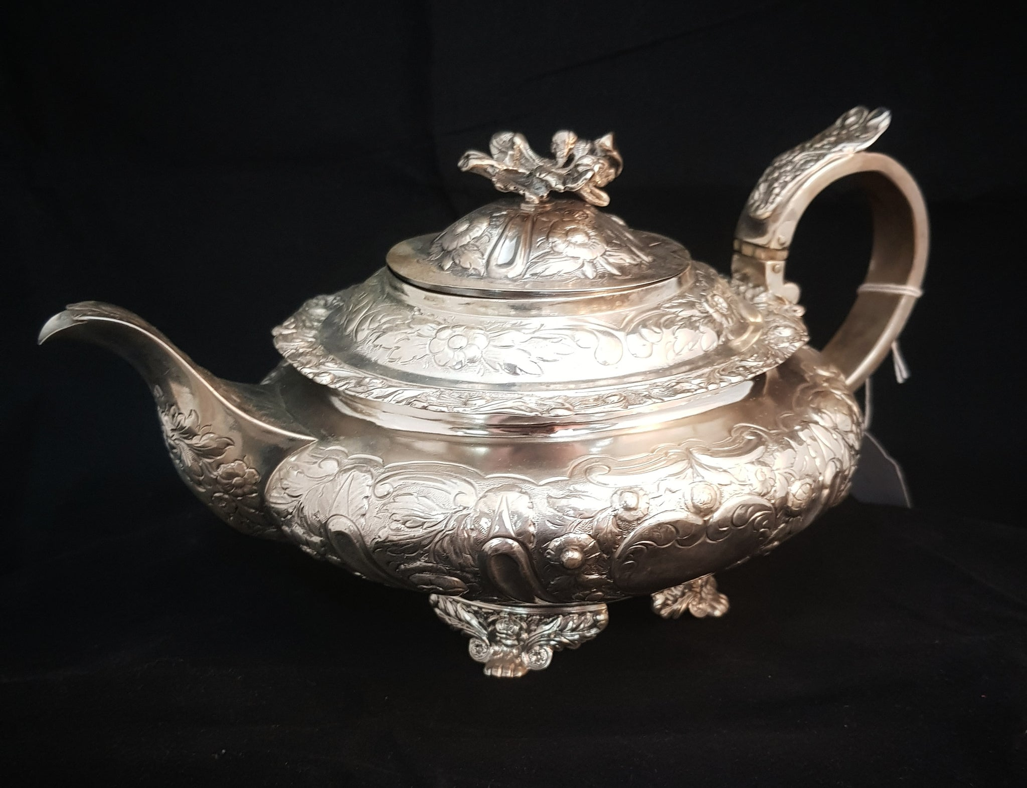 Sterling Silver Tea Pot Scottish