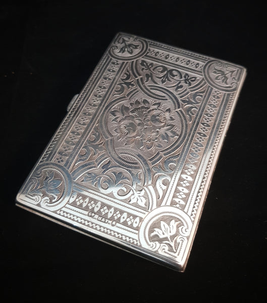 Birmingham Highland & Thomarson Sterling Silver card case