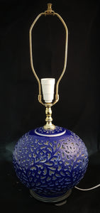 American Pottery Lamp c1970