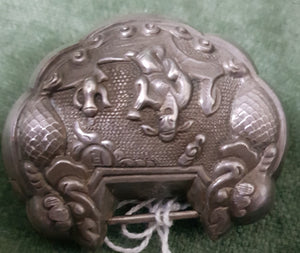 c1940 Chinese metal lock #348