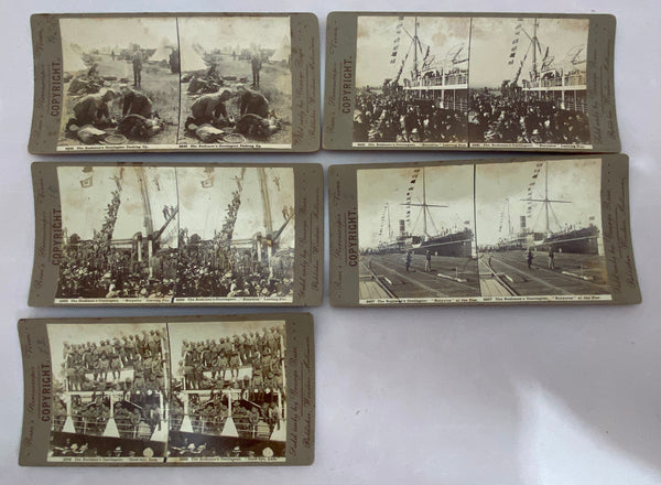Rose's Stereoscopic Views (Set of 11) Memorabilia 1910