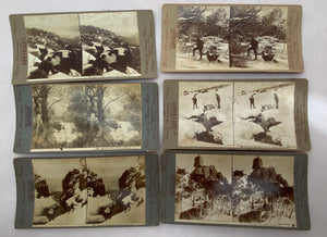 Rose's Stereoscopic Views (Set of 6) Memorabilia 1910
