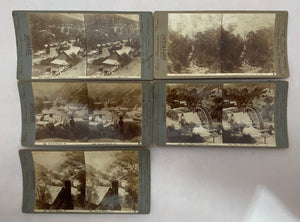 Rose's Stereoscopic Views (Set of 5) Memorabilia 1910