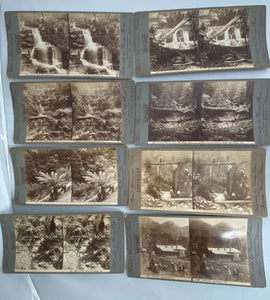 Rose's Stereoscopic Views (Set of 8) Memorabilia 1910