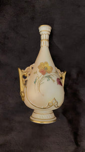 c.1950 Royal Worcester English Porcelain Mini Vase